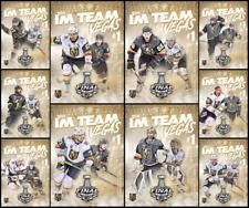 TOPPS NHL SKATE ALLEGIANCE 2018 (10 CARD GOLDEN KNIGHTS SET) Fleury/Karlsson+++