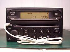 2005-06 NISSAN FRONTIER Titan Xterra RADIO CD PLAYER W AUX Input