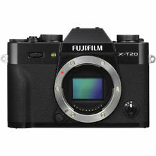 Fujifilm Finepix X-T20 Digital Cameras with 18-55mm f/2.8-4 R LM OIS Lens Black