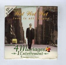 CD SINGLE (NEW)OST WET WET WET 4 MARIAGES 1 ENTERREMENT