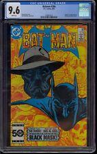 BATMAN #386 CGC 9.6  ORIGIN & 1st APPEARANCE of  BLACK MASK  1986   COMIC KINGS