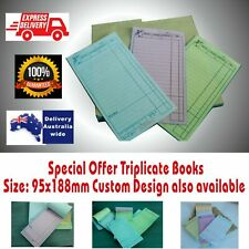 Wholesale Triplicate LARGE Restaurant Docket Books. Carbonless  Fast Delivery Au