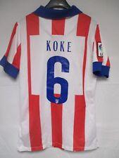Maillot ATLETICO MADRID 2015 NIKE camiseta KOKE n°6 home shirt LFP football M