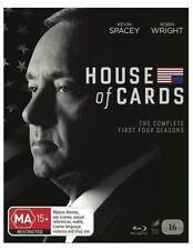 House Of Cards - Season 1 - 4 : NEW Blu-Ray