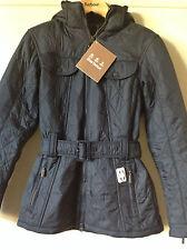 Barbour Grace Polarquilt Jacket Black Navy Pearl 16 Navy