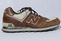 Limited Edition New Balance M574LEBB Men's Brown Beige Sneaker Shoes 11.5D