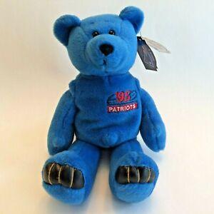New England Patriots Bear Drew Bledsoe #11 Limited Treasures Plush Football Toy