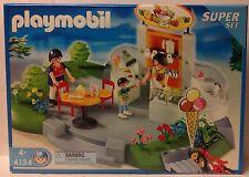 Playmobil 4134 Ice Cream Parlor Super Set -  NEW