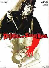 Dr Jekyll And Sister Hyde Poster 03 A2 Box Canvas Print