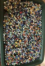 Large Collection Of Old Vintage Marbles 11Lb