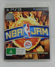 PS3 PLAYSTATION 3 GAME NBA JAM EA SPORTS BASKETBALL 1-4 PLAYERS MULTIPLAY