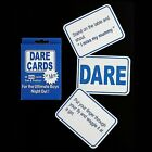 24 x BLUE Alandra Dare Cards for STAG Night Party Wedding Game So Funny