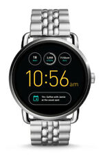 FTW2111 Fossil Q Wander Touchscreen Silver Stainless Steel Smartwatch