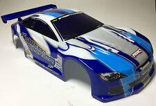 Carson Street Warrior 1/10 Karosserie Lexan blau lackiert mit original Aufkleber
