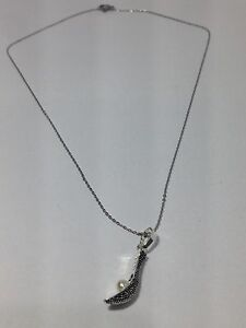 New jai alai Sport Pendant and s steel necklace