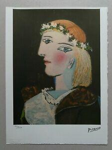 PABLO PICASSO Lithograph Edition 50/250