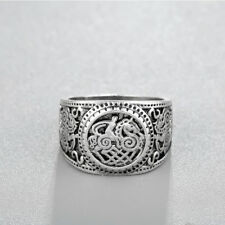 Night Club Punk Rings For Men Jewelry Accessories Valknut Viking Signet Rings