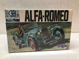 VINTAGE ORIGINAL 1/32 SCALE MPC ALFA-ROMEO SEALED MODEL KIT