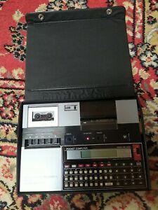 VINTAGE Seiko MP-220 micro cassette recorder and printer  - Rare