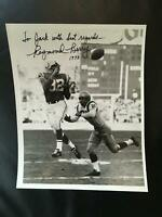 Raymond Berry Signed 8x10 Photo PSA/DNA Baltimore Colts HOF- Dated 1973