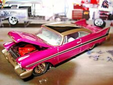 1958 PLYMOUTH FURY LIMITED EDITION COLLECTOR CAR 1/64 JOHNNY LIGHTNING HOT!