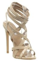 Womens Cape Robbin MESMERIZE Strappy Ankle Going Out High Heels