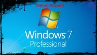 Microsoft Windows 7 Pro Professional Key Vollversion 32/64 Bit Sofort Versaand