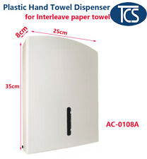 TCS NEW heavy duty plastic Paper Towel Dispenser Interleave Hand Towel