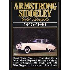 Armstrong Siddeley Cartera De Oro 1945-1960 libro papel coche