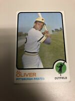 1973 Topps Al Oliver #225 Baseball card Pittsburgh Pirates Lot Of (2)