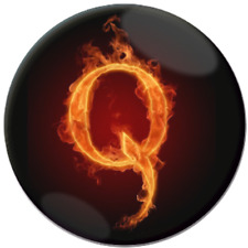 # Q Anon 4chan follow white rabbit  25mm 1 inch Pin Button Badge Combine postage