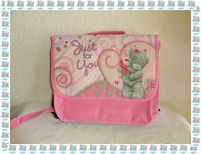 "Cartable Sac à Dos  Rose ""Just For You "" Compartiment + Poche Me to you Neuf"
