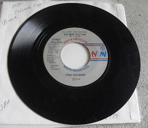 Promo Record 45 RPM King Solomon She Loves to Hear the Music NAM