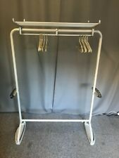 More details for vintage steel office hat coat and umbrella stand with rack