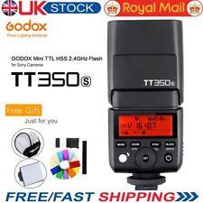 Godox Newest Mini TT350S 2.4G TTL flash for Sony Mirrorless A7 7R A6000+Gift Kit