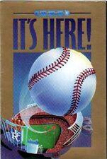 1992 KANSAS CITY ROYALS POCKET SCHEDULE - KAUFMAN STADIUM ON FRONT