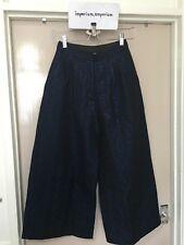 Para mujeres Largo editar Culottes Pantalones Pantalones Parte inferior Metálico Jacquard/NEGRO TALLA XS