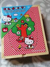 Sanrio Hello Kitty 4x Holz Puzzle 3tlg. ab 2 Jahre 15152