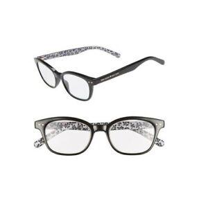 NWT Kate Spade Rebecca2 Black Floral Print Readers Glasses w Case +1.5/+2.0/+2.5