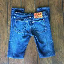 Ed Hardy Christian Audigier Easy Rise Skinny Women's Size 27 Denim Jeans