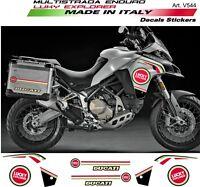 Kit Adesivi Lucky Explorer per Ducati Multistrada 1200-Enduro