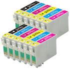 12 Cartouches d'encre pour Epson Stylus Photo PX660 PX800FW R285 RX685 RX560