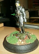 1:16 MinI Plate Armor Knight w/Sword SAINT GEORGE  ALLMETAL DRAGON PATHFINDER