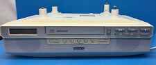 Sony - Icf-Cd523 - Mega Bass - White Under Counter Cd, Am/Fm Radio - Works Well