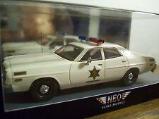 """RARE 1 OF ONLY 300 MADE-DUKES OF HAZZARD 1:43 """"SHERIFF ROSCO"""" HAZZARD POLICE CAR"""