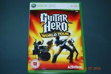 Guitar Hero World Tour Xbox 360 UK PAL **FREE UK POSTAGE!!**