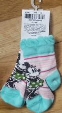 NWT HANNA ANDERSSON BABY SOCKS MINNIE MOUSE DISNEY  Size 1 / 2   0-3 Months