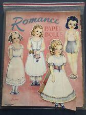Romance Paperdolls 1940s