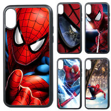 Spider-Man Superhero Comics Avengers Silicone iPhone 11 12 Pro Max X Case Cover