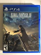 Final Fantasy.XV Ps4 Games Replacement Case( No Game Included)